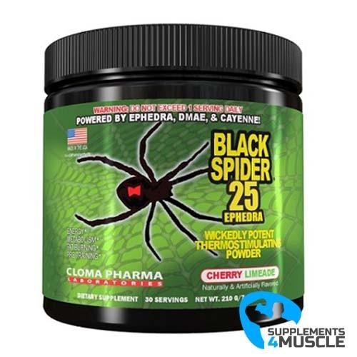 Cloma Pharma Black Spider Pre-Workout