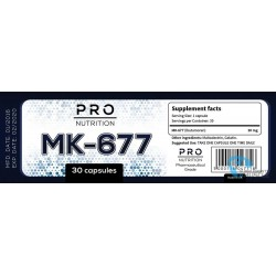 Pro Nutrition MK-677