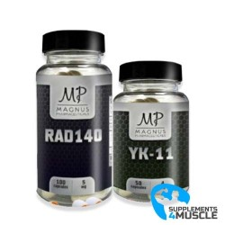 Stack for bulking: RAD140+YK-11