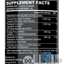 BIo-Kem Nutrition Bio Rage